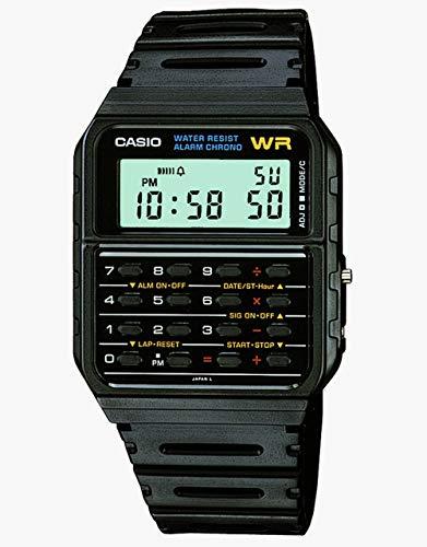 Casio Orologio Digitale Quarzo Unisex con Cinturino in Plastica CA-53W-1ER