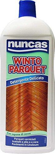 12 x NUNCAS Winto Parquet Detergente Delicato 1000 ML