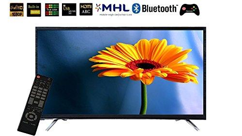 HiTech Smart Led 32 Inch Tv HT LE 32 BT 1080p HD, 3d Sound, Bluetooth, Games Led Tv (Black) 1 Year Warranty By HiTech