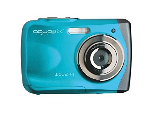 Easypix 10012 Unterwasser Digitalkamera'Aquapix W1024-I Splash' in Eisblau