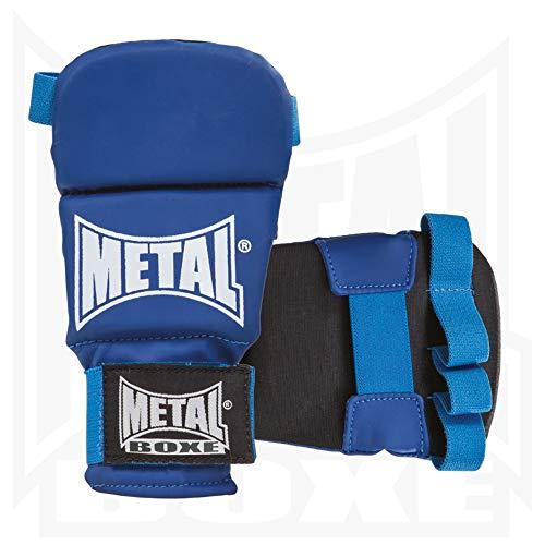 Metal Boxe mb488Guanti Unisex, Unisex, MB488, Blu, Taglia M