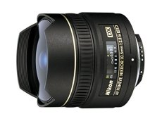 Nikon JAA629DA - Objetivo gran angular para Nikon (distancia focal fija 10.5 mm, apertura f/2.8), negro