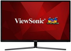 "Viewsonic VX3211-mh - Monitor 31,5"" Full HD IPS Panorámico (1980 x 1080, 3ms, 250 nits, 178°/178°, color 8 bits, VGA/HDMI, altavoces, Blue Light Filter, Flicker-Free), color negro y plata"