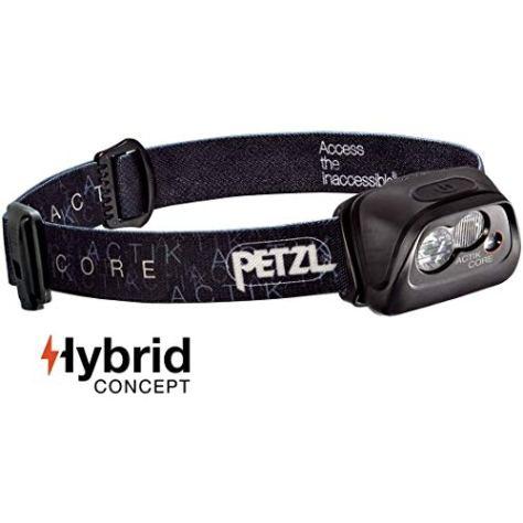 Petzl Stirnlampe Actik Core Schwarz, One Size