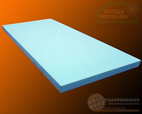 PUR RG35 Materassino in gommapiuma , Espanso, blau, 200cm x 60cm x 5cm