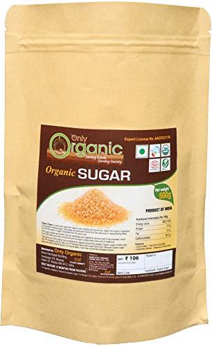 Organic Sugar (Sulphurless) I कार्बनिक चीनी I kaarbanik cheenee, 500 gm