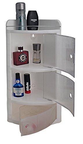 Parasnath Beautiful Crystal Corner Cabinet Shelf (Made In India)