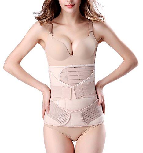 3 in 1 Postpartale Unterstützung Recovery Bauch Taille Becken Gürtel-Taille Schlankheits-Gürtel