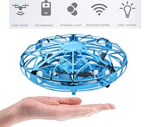 Flybiz Mini UFO Drone, Ricaricabile per Bambini UFO Drone Mini quadricottero Motion Hand Controllato...