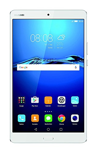 "Huawei MediaPad M3 - Tablet de 8.4"" (Procesador Octa Core Kirin 950, Memoria Interna de 32 GB, 4 GB RAM, Cámara de 8 Mp, Android 6.0), Color Plateado"