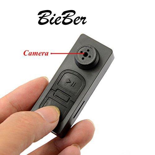CAM 360 HD Mini DVR Button Pinhole Spy Hidden Video Recorder Camera