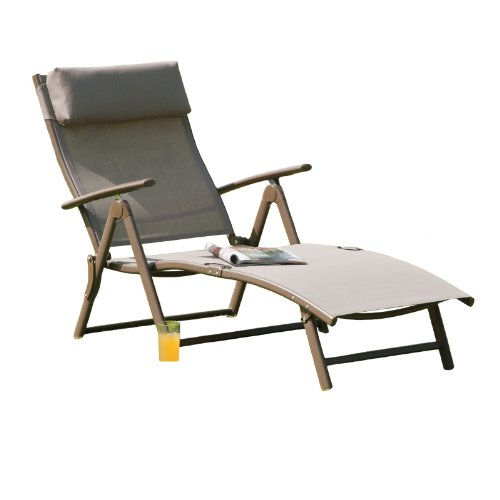 After extensive research through the many brands of sun loungers currently available in stores and online, we have come to the conclusion that the Havana Mocha Steel Sun lounger is the best sun lounger in this review for most people.
