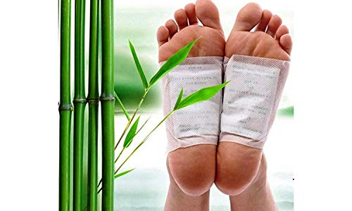 CIERIE Kinoki Cleaning Detox Foot Spa Pads/Patches for Toxins, ABS Cleansing - Pack of 10