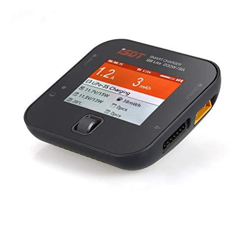 Ballylelly ISDT Q6 Lite 200W 8A Caricatore palmare per bilanciamento della Batteria Tascabile per...