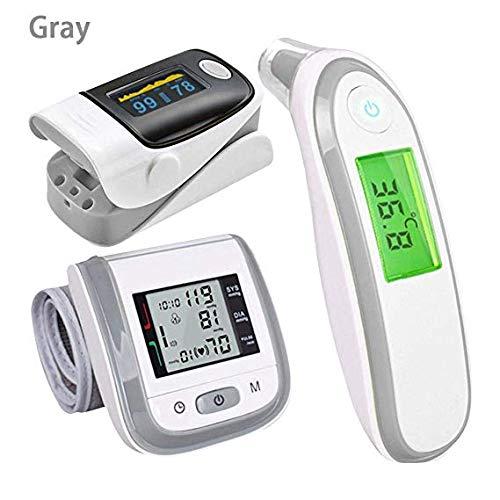 ZHLU FingerTIP Pulse Oximeter termometro Digitale, termometro elettronico a infrarossi, Set di...