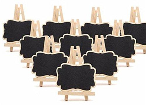 gespout Mini legno lavagna Wordpad Mini Lavagna decorativo lavagna memo rettangolare Messaggio Board...