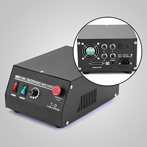 CNC ROUTER ENGRAVING ENGRAVER CUTTER 3 AXIS 3040T-DQ BALLSCREW CUTTING USB PORT