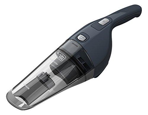BLACK+DECKER NVB215W-QW Dustbuster Aspirabriciole 10.8 Wh, Ricaricabile con Accessori, Batteria al...