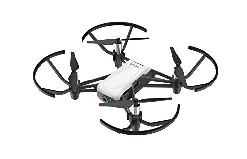 DJI Ryze Tello – Drone Mini Ideale per Creare Video con EZ Shots, Compatibile con Lenti VR e...