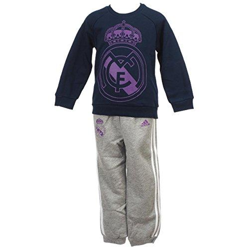 adidas I Real Jogger Pantalones de Chándal, Niños, Azul (Maruni/Vioray), 98
