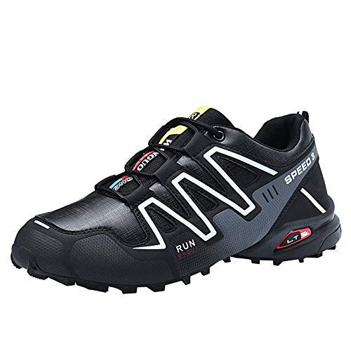 Zapatillas de Hombre, Zapatos Antideslizantes para Hombre Senderismo Botas Impermeables Zapatos de Escalada al Aire Libre Zapatillas de Hombre Exteriores de Trail Running Antideslizantes by BaZhaHei