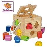 Eichhorn - 100002092 - Jeu Bois - Jeu Cubes en Bois