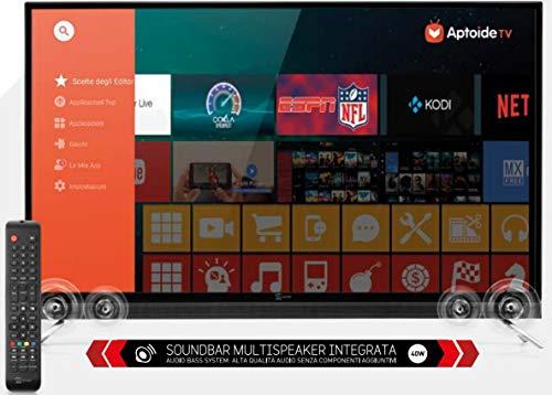 TV LED 50 Pollici 4K DVB T2 Smart TV Android Sound50 Smart