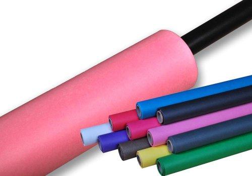 moderntex Fotostudio Papierhintergrund 180g/m², 11m x 1,35m rosa, Made in USA, Hintergrundkarton