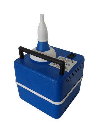 Karaloon Z 30001 - Pompa elettrica Automatica per gonfiare Palloncini, Colore: Blu/Bianco