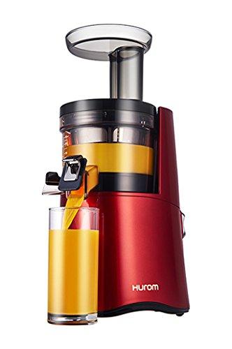 Hurom H-AA-EBE17 - Estrattore di succo, Terza Generazione, Rosso, 150W, 500ml