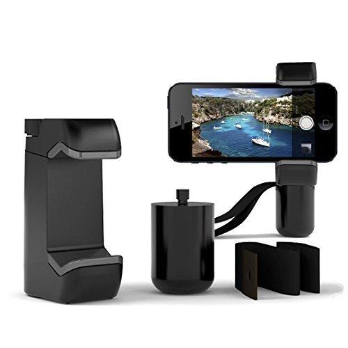 Shoulderpod S1 Supporto professionale per Smartphone per Apple iPhone 6s/6s Plus/6C, Samsung Galaxy S6 con treppiede, impugnatura e stand da tavolo