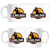 Diver Tazas Taza Llama Park Silueta - Cerámica