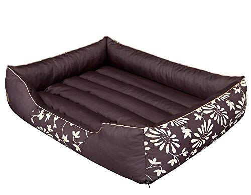 Hobbydog Durable Cordura Dog Bed with Removable Cover Size L 65x 50cm