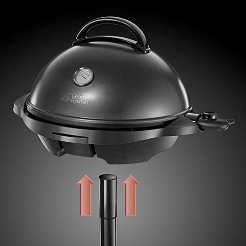 George Foreman 22460-56 George Foreman Barbecue Grille intérieur/extérieur Noir 2000 W