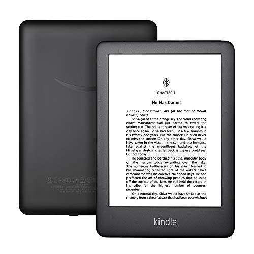 """All-New Kindle (10th Gen), 6"""" Display now with Built-in Light, 4 GB, Wi-Fi (Black) 4"""