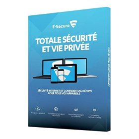 F-Secure Sécurité Internet et VPN (3 postes, 1 an)
