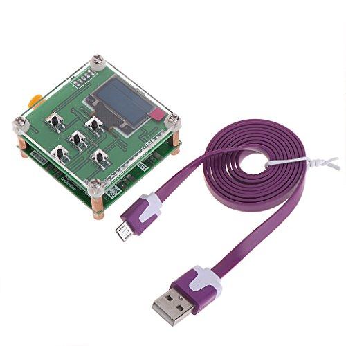 zijianZJJ - Medidor de Potencia OLED RF (8 GHz, 1-8000 MHz, 55 ~ -5 dBm, atenuación RF Sofware)