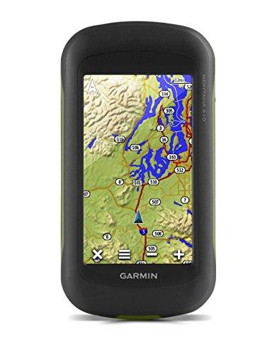 Garmin Montana 610 GPS Portatile, Schermo da 4' Touch, Nero/Verde