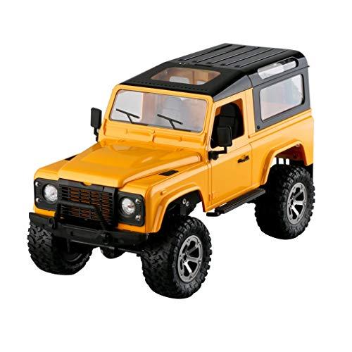 Ginli Telecomando per auto fuoristrada RC Telaio in alluminio 1:16 RC 2.4GHz 4WD Nuovo 1:16...