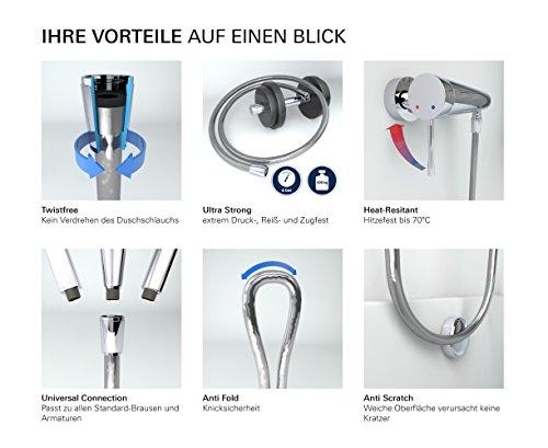 Grohe flexible de douche en plastique 123chantier - Flexible douche plastique ...