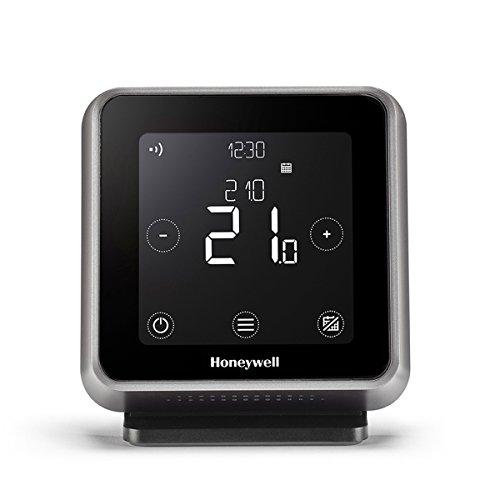 Honeywell Y6R910RW8021 T6R Termostato Programmabile Intelligente Wi-Fi, Senza fili, Nero