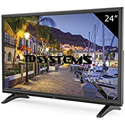 TD Systems K24DLM7H - Televisor Led 24 Pulgadas HD, resolución 1366 x 768, HDMI, VGA, USB Reproductor y Grabador.