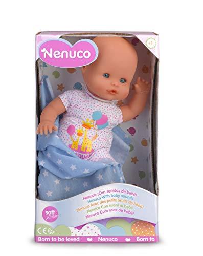Famosa - Nenuco Bebè con Suoni, Bambola Educativa, 700015542
