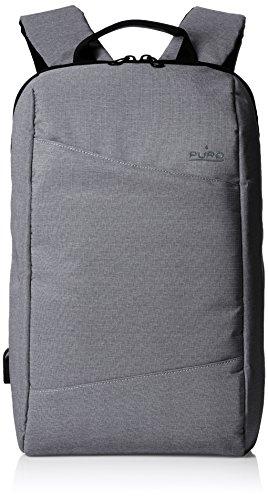 Puro Zaino Byday per MacBook Pro 15' e Notebook da 15.6', Grigio