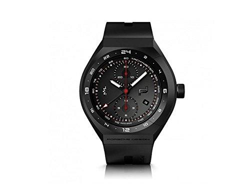 Porsche Design Monobloc Actuator Automatik Uhr, Titan, GMT, 6030.6.2.003.02.5