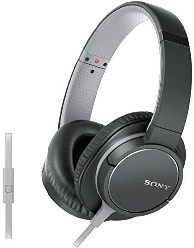 Sony MDR-ZX770AP Diadema Binaurale Alámbrico Negro - Auriculares (Binaurale, Diadema, Negro, 1000 MW, Alámbrico, 1,2 m)