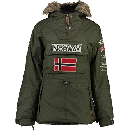 Geographical Norway Parka Donna BOOMERA Ass A Caqui 5