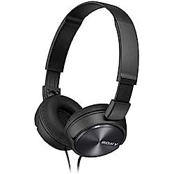 Sony MDR-ZX310B - Auriculares de diadema cerrados (sin micrófono), negro