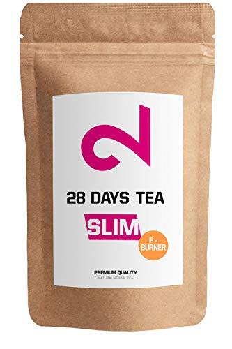 Dual 28 Days F-burner Tea | Tè Slim Per La Perdita Di Peso|Tè Detox | Tè Per La Dieta E Per Bruciare Grassi |Tè Purificante|Ingredienti Naturali Per Una Dieta Di Maggior Successo|Made In Germany |85g