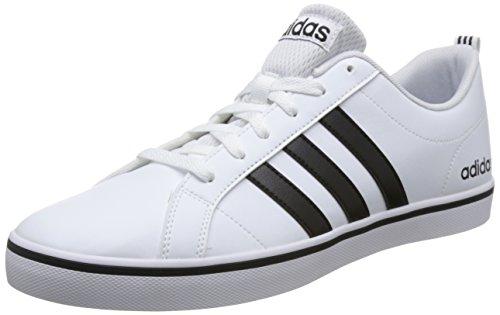 adidas Herren VS Pace Sneaker, Mehrfarbig (Ftwbla/Negbás/Azul 000), 44 EU